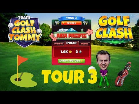 Golf Clash tips, Hole 2 - Par 4, Tour 3 - Asia Pacific - Sakura Hills, Guide & Tutorial!