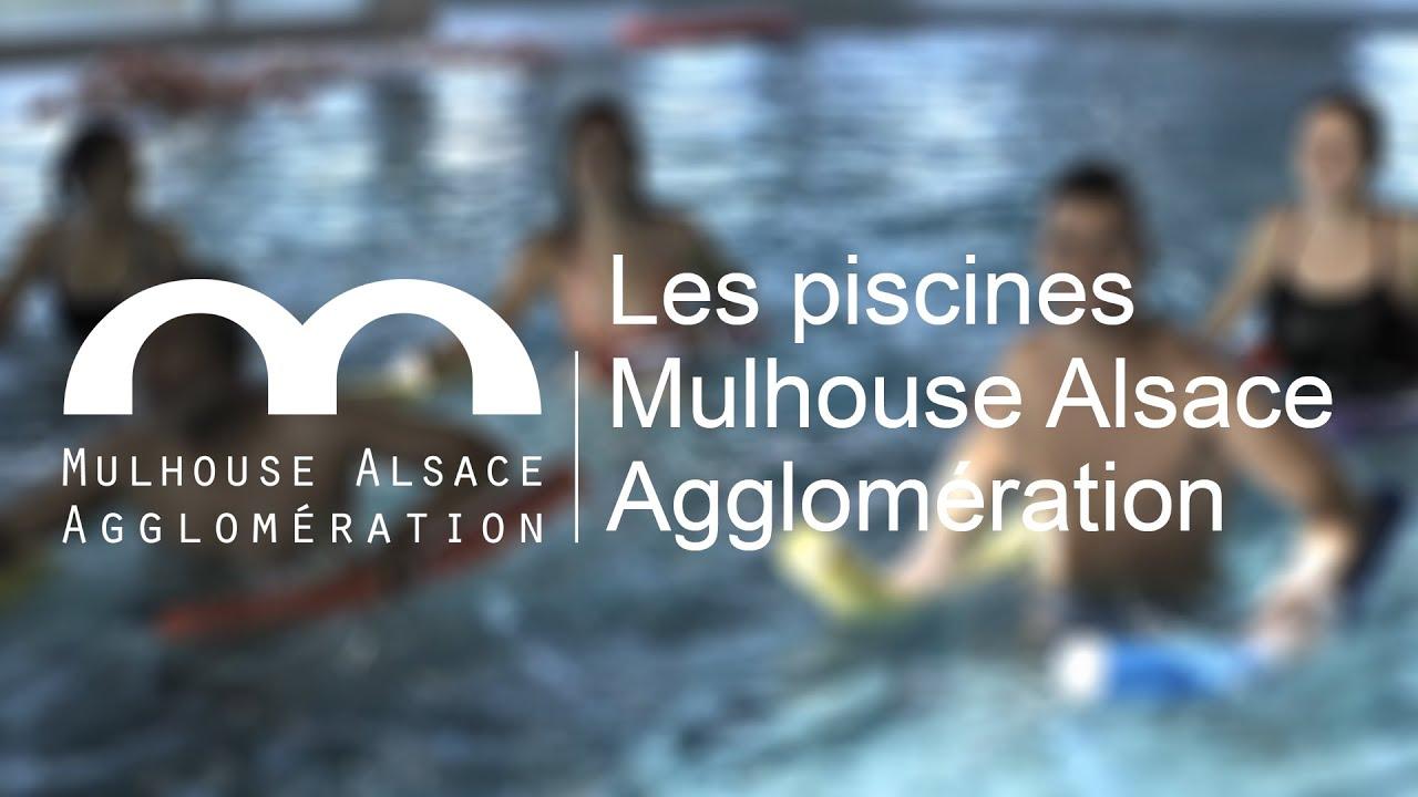 Les piscines de Mulhouse Alsace Agglomération