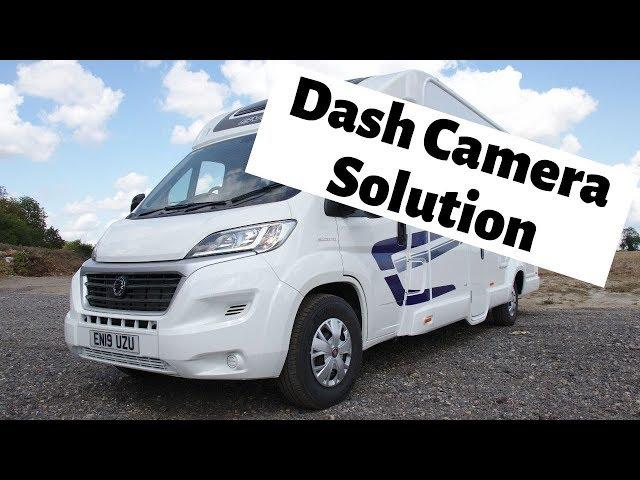 Thinkware Q800 Dash Camera | Fiat Ducato Motorhome | CBS Automotive