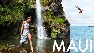 ROAD TO HANA - VOLCANOS AND WATERFALLS IN MAUI (HAWAII Pt 4)