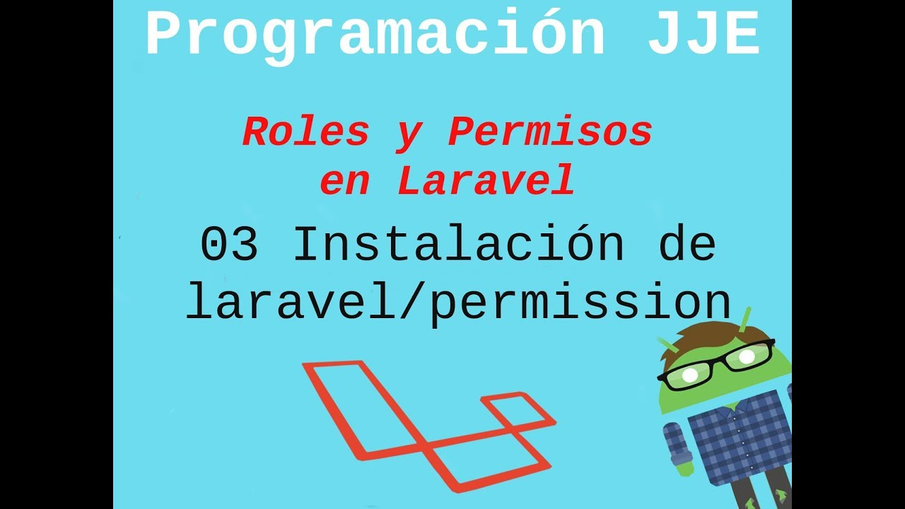 03 Instalación de spatie\laravel-permission