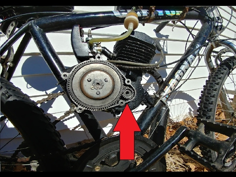 HOW-TO: REPLACE CRANKSHAFT DRIVE GEAR Small bevel gear on 66/80cc 2 stroke  motorized bike engines