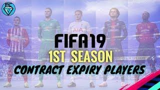 FIFA 19: 1STE SEIZOEN VERSTRIJKEN VAN DE OVEREENKOMST SPELERS