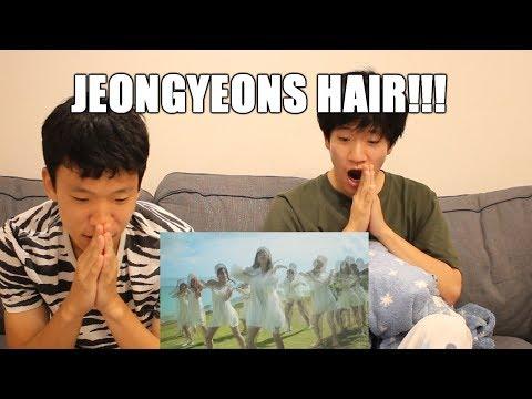 "TWICE ""Dance The Night Away"" TEASER (Dance Ver.) REACTION (JEONGYEONS HAIR!!!)"