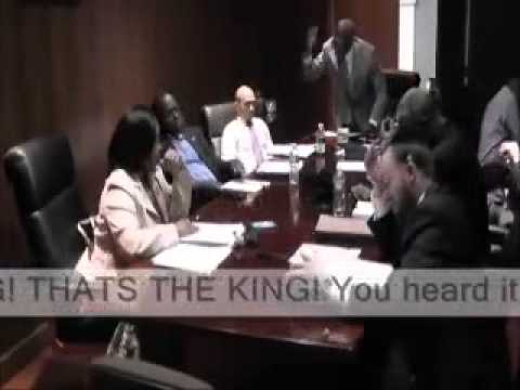 "Demeza Delhomme, Mayor of Spring Valley NY declares himself as the ""KING OF THE VILLAGE""! HILARIOUS!"