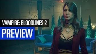 Vampire: Bloodlines 2 | PREVIEW | Langes Vorschau-Video von der E3