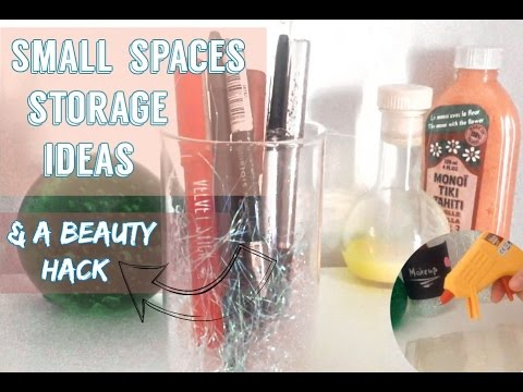 Makeup Organization Ideas For Small Spacesdiy Makeup Brush