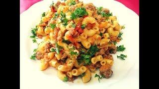 МАКАРОНЫ СУХИЕ сразу жарю ,НЕ ОТВАРИВАЮ !! Очень Вкусно и быстро.no more boiling pasta