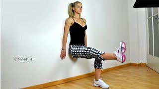 Benefits and Workout Steps for Wall Sit Exercise | Women's Zone | TBG Bridal Store