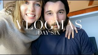 Vlogmas Day 6 | Christmas Tree Day and Reunited with my Boyfriend!