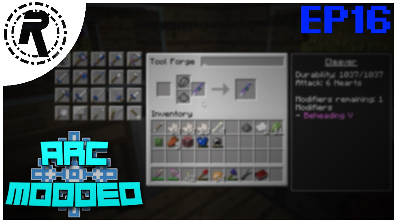 how to make a cleaver minecraft