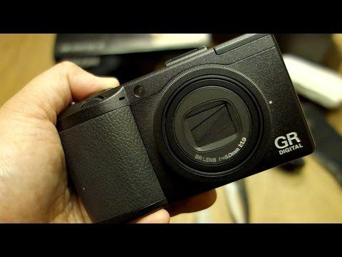 Ricoh GR Digital III Camera open box