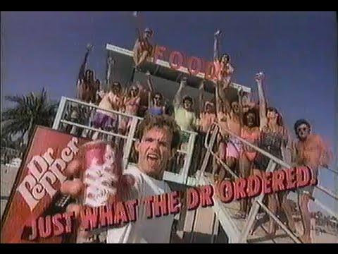 Fun California 1991 Dr Pepper Commercial Youtube
