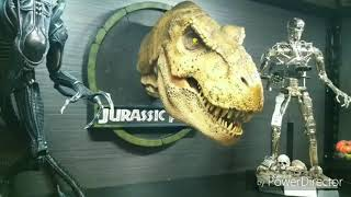 chronicle collectibles 1/5 female t rex bust jurassic park