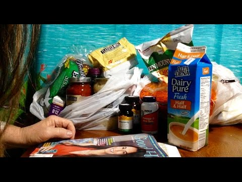 Shopping Haul, Lassens Health Food Store, Groceries, Supplements, Soft Spoken,  ASMR, Chewing Gum