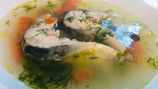 Рыбный Суп/Суп из Скумбрии/Лёгкий и очень Вкусный/Рецепт/
