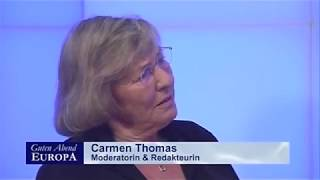 Carmen Thomas bei MS Europa TV, Hapag Lloyd