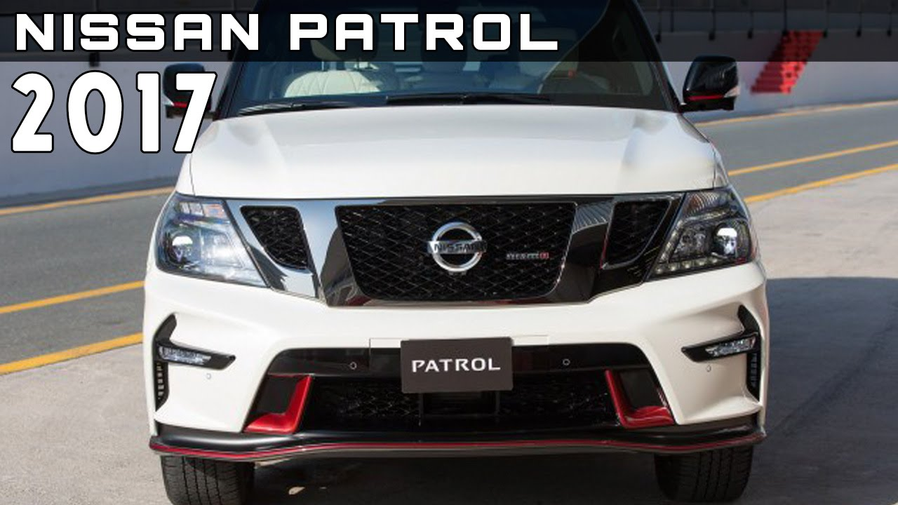 2017 Nissan Patrol Review Rendered Price Specs Release Date