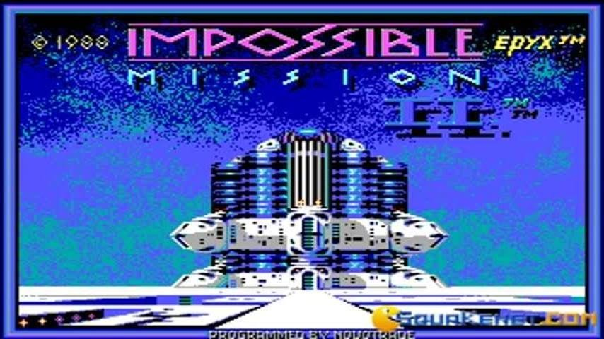 Download Impossible mission 2 action for DOS (1988