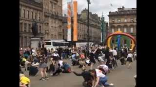 Glasgow 2014 Commonwealth Games flash mob