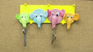 DIY Elephant Key Holder