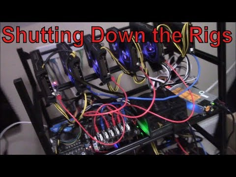 Turning off my Mining rigs !!