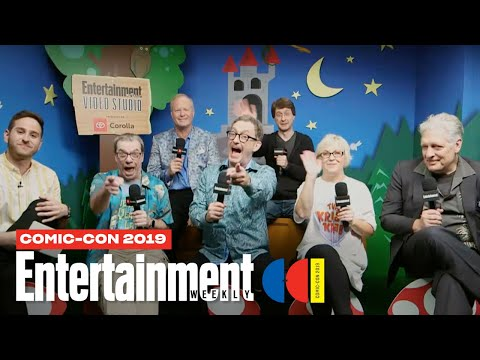'Spongebob Squarepants' Stars Tom Kenny, Clancy Brown & Cast LIVE | SDCC 2019 | Entertainment Weekly