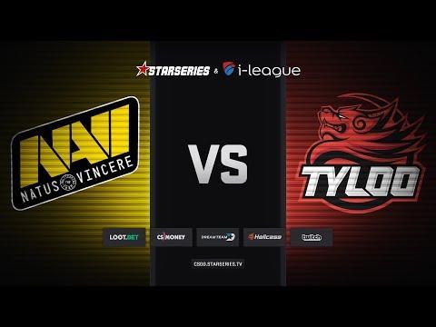 Natus Vincere vs TyLoo, map 1 mirage, StarSeries i-League Season 5 Finals