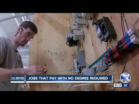Jobs That Pay With No Degree Required