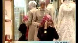 Как завязывать платок по мусульмански