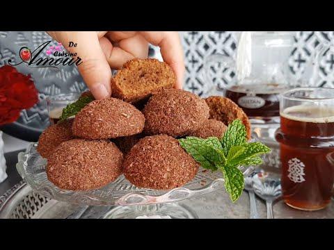 halwat-katifa,-gateau-algerien-fondant-au-cacao-pour-eid-2020