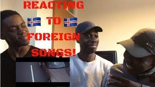 Emmsjé Gauti - Silfurskotta ft. Aron Can [FOREIGN SONGS REACTION!] 🇮🇸🎵