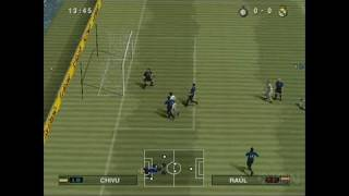 Pro Evolution Soccer 2010 PlayStation 2 Gameplay - A C