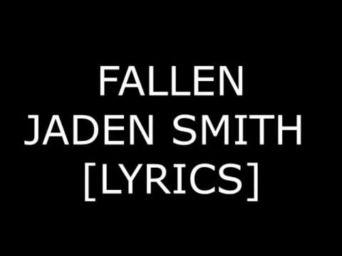 JADEN SMITH - FALLEN LYRICS (2016)
