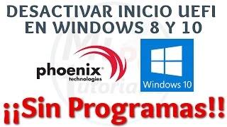 Tutorial Como Desactivar UEFI Windows | Desinstalar Windows 8 e instalar Windows 7