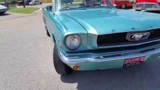 1966 Ford Mustang Convertible 76B Pony 289 Classic