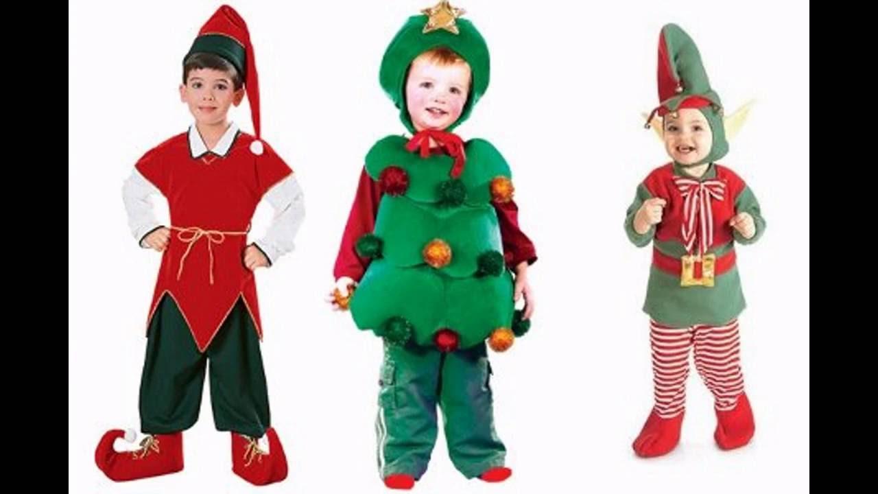 Ropa de navidad para ni os youtube - Disfraces duendes navidenos ...