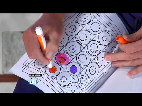 How Coloring Can Help You De-Stress -- The Doctors