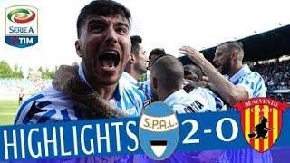 Spal - Benevento 2-0 - Highlights - Giornata 36 - Serie A TIM 2017/18