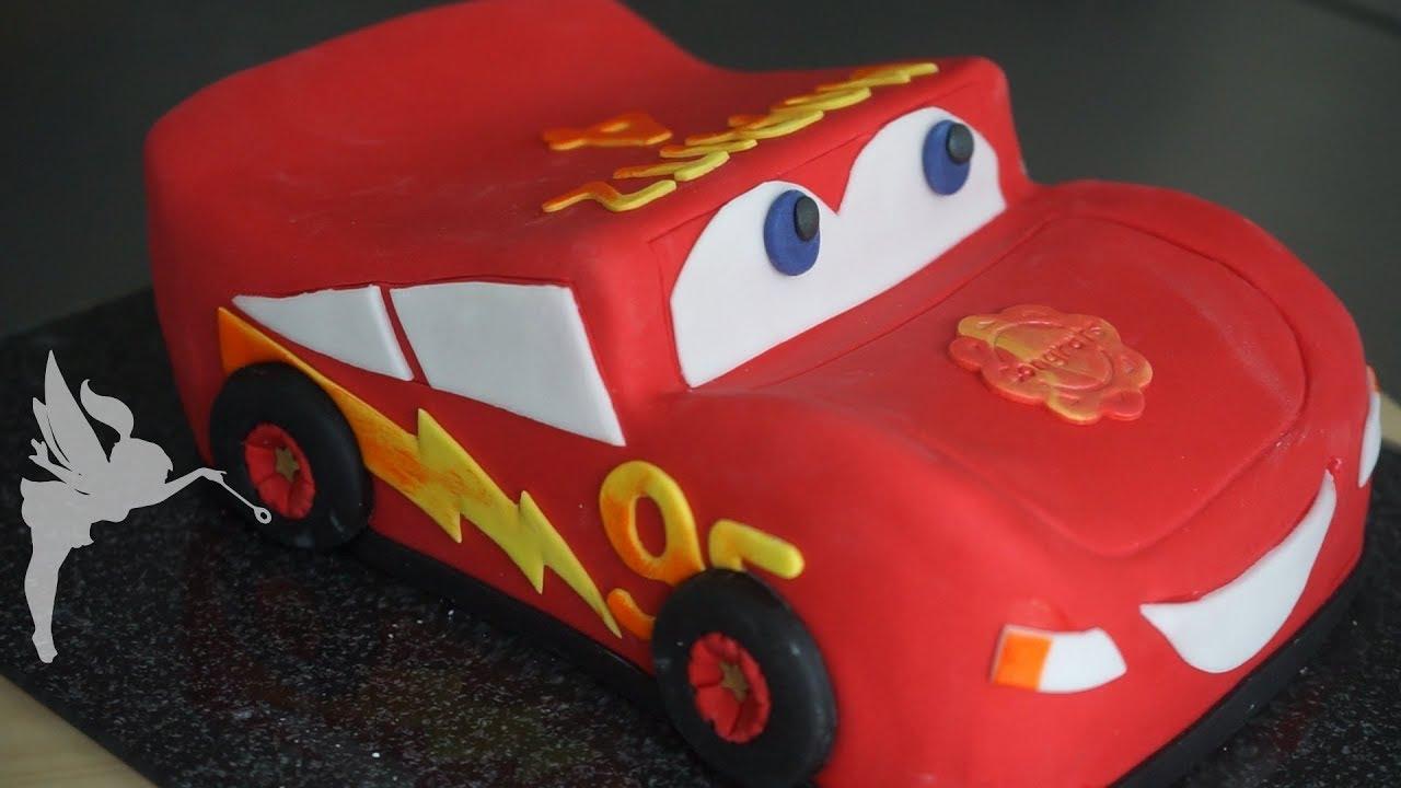 Lightning Mcqueen Torte Cars Fondant 3d Motiv Torte Cars Torten
