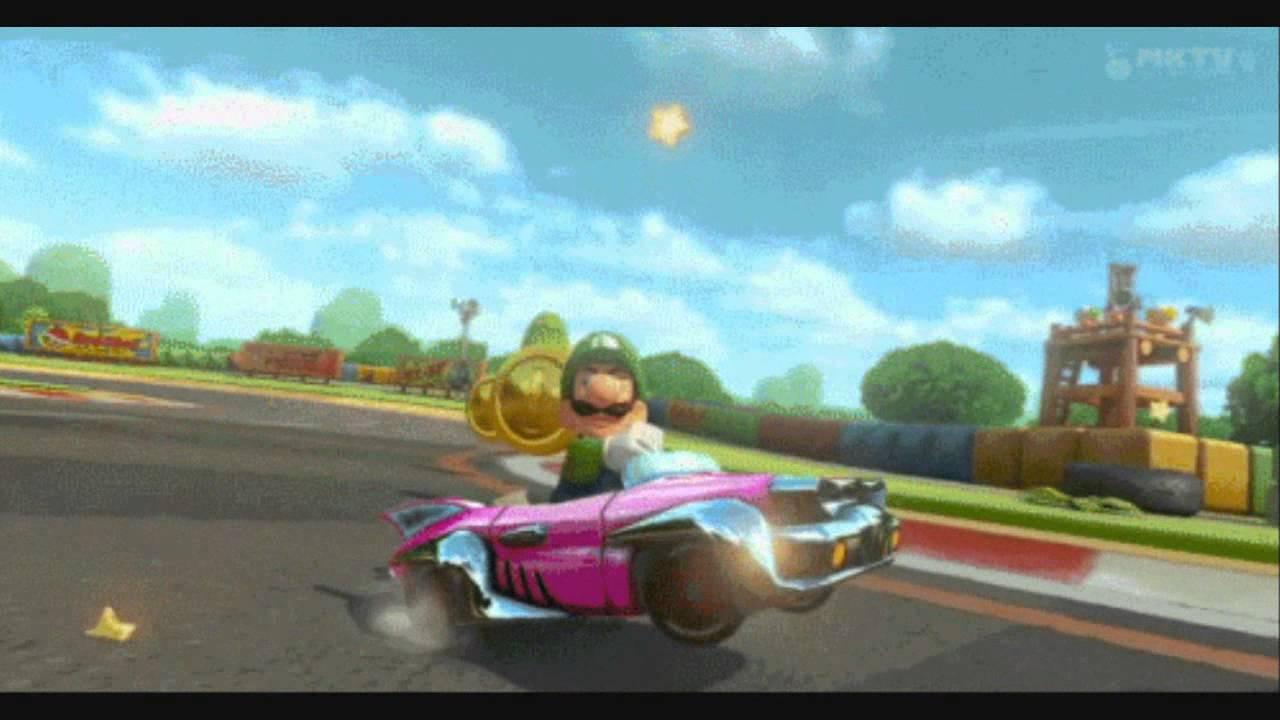 Mario Kart Wiiu Got Serious With Luigi Ign Boards