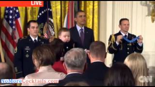 Clint Romesha Receives Medal Of Honor