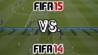 FIFA 15 vs. FIFA 14
