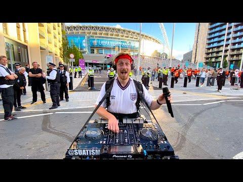EURO semi final DJ SET... (WEMBLEY STADIUM)