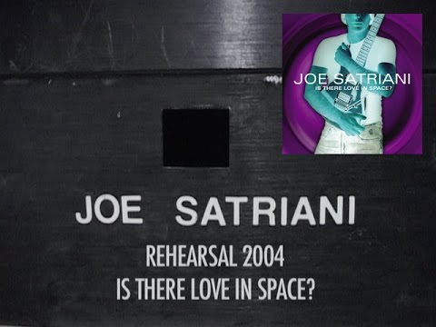 "Joe Satriani - ""Is There Love In Space?"" Rehearsal Behind The Scenes (2004)"