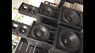 t.amp TSA 4-1300 + Basy B&C i Górki RCF Granat Audio