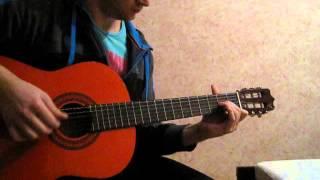 алые паруса guitar acoustic cover
