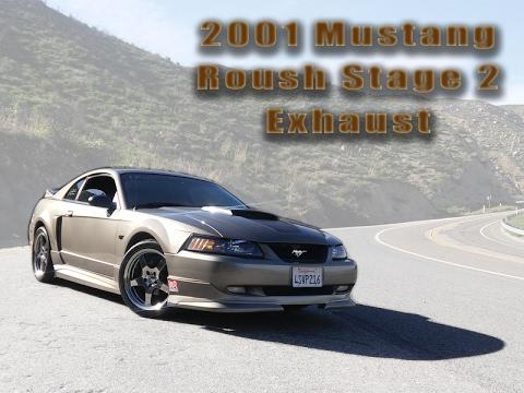 Mustang Roush Stock Magnaflow Exhaust + Walkaround - 2001 Stage 2