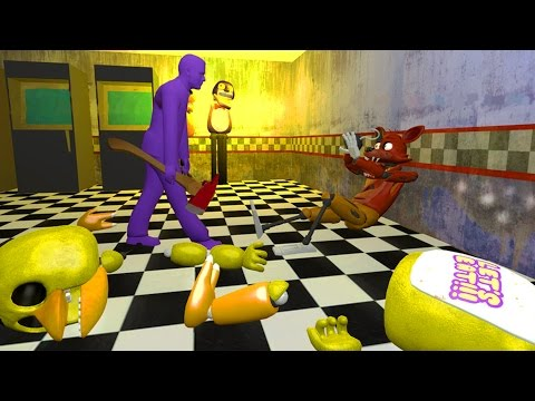 FNAF SFM: Five Nights At Freddy's Animations (FNAF ANIMATED COMPILATION)