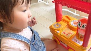 アンパンマンカフェキッチンのおもちゃで冷えた体をあたためよう!Anpanman Cafe Kitchen Toys